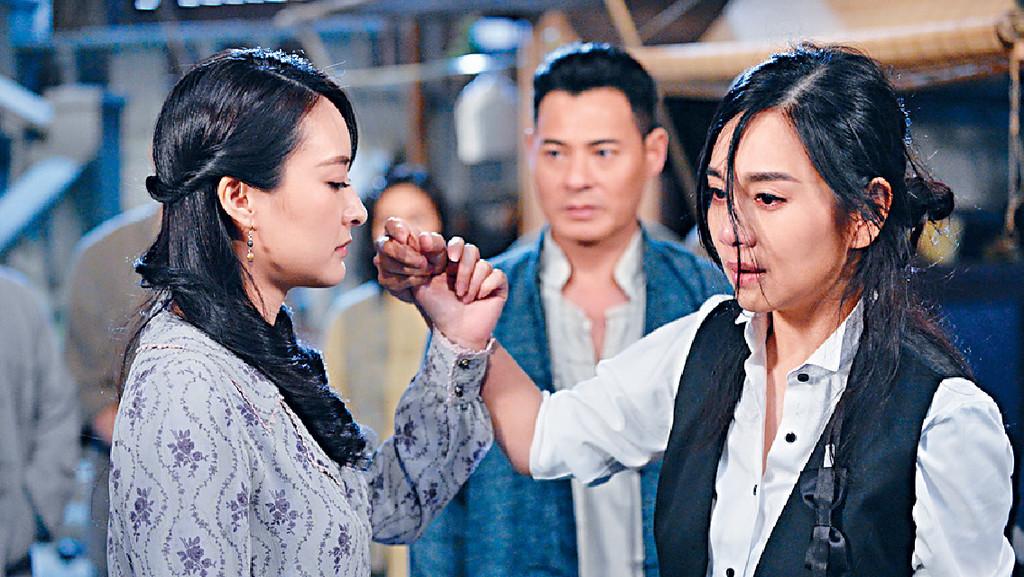 ■《福爾摩師奶》中,陳瀅陰沉演技被讚賞。