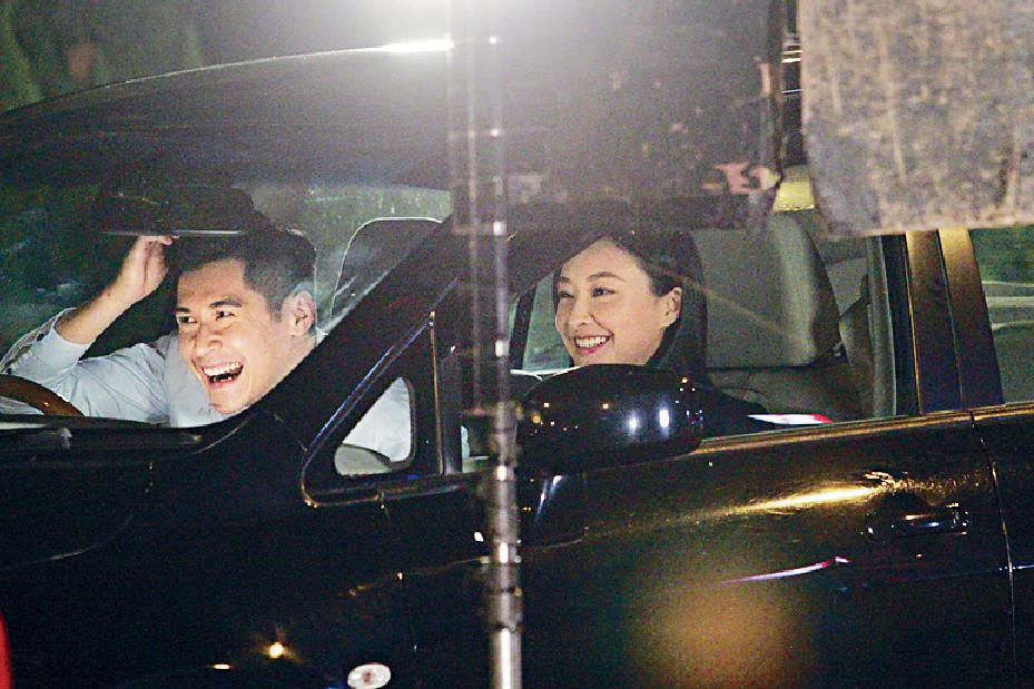 ■去年,陳瀅和陳家樂因拍《廉政行動2019》譜出「雙陳戀」。