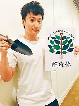 小方透露地球之友去年種植的樹苗被「山竹」摧毀了一半。