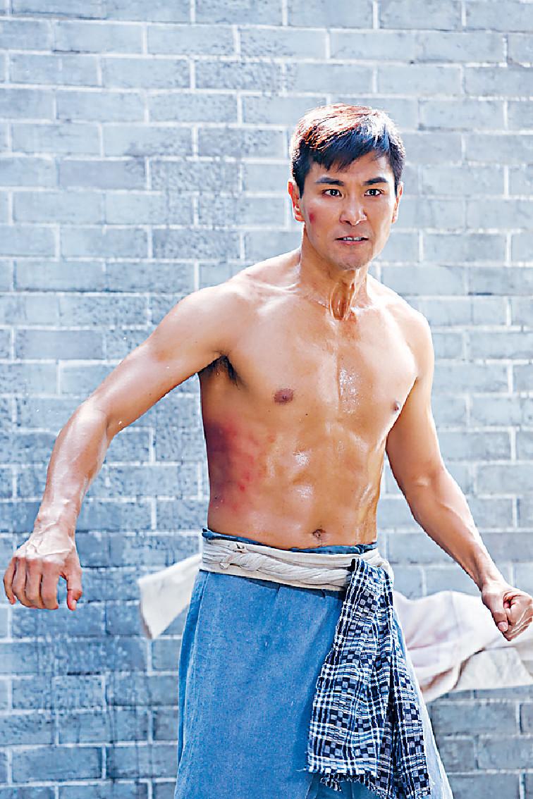 打出前途 《城寨英雄》中拳佬一角令展鵬封視帝,大受歡迎。