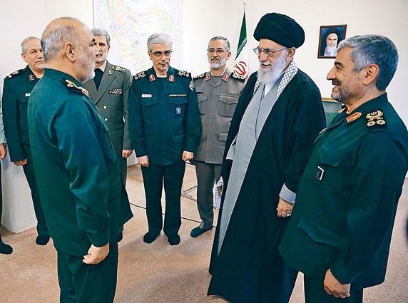 伊朗最高精神領袖哈梅內伊周一任命薩拉米,接任伊斯蘭革命衞隊司令。