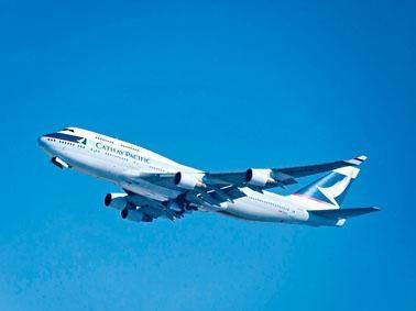 一名國泰航空機長今年初在航程中「失明」達半小時。