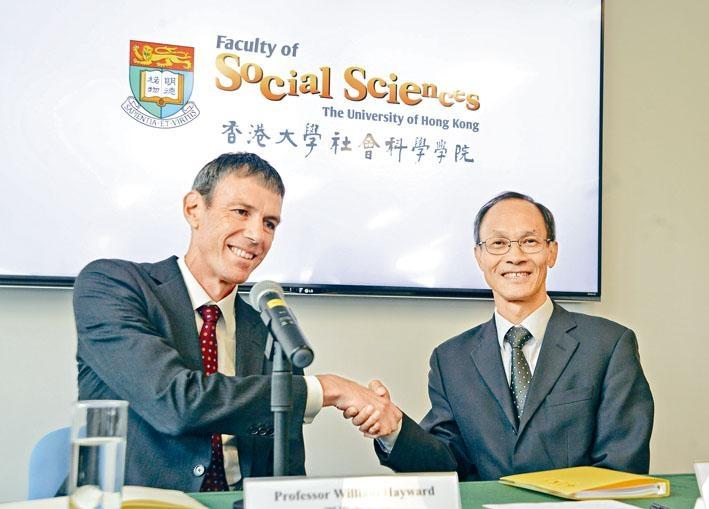 鍾庭耀宣布港大民意研究計畫將於七月起脫離港大,自立門戶。