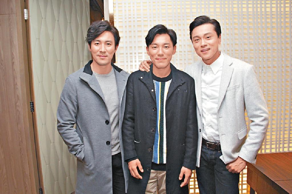 好男人 黃浩然、譚俊彥及張穎康有大好家庭,是心穎口中的好男人。