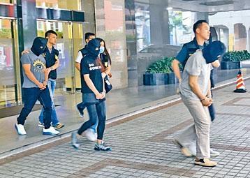 港人夫婦涉運毒,與澳門男交收同被捕。