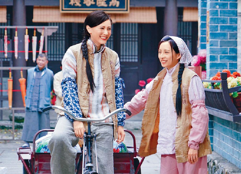 ■劇中朱晨麗與龔嘉欣有不少對手戲。