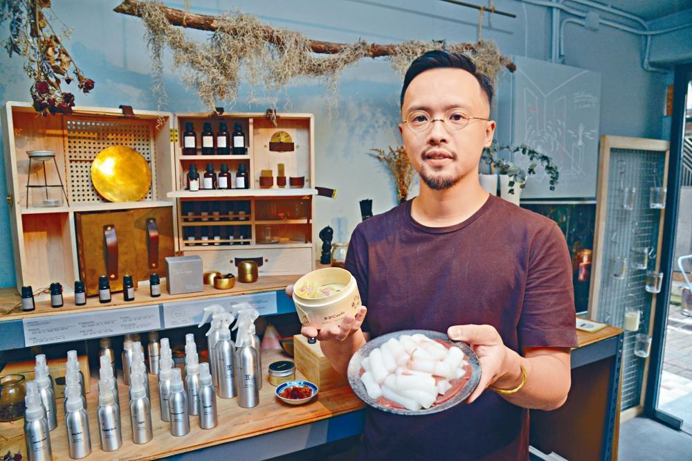 店主曾首彥(Xavier)自幼在西貢成長,希望藉開設小店聚集街坊,互相交流。