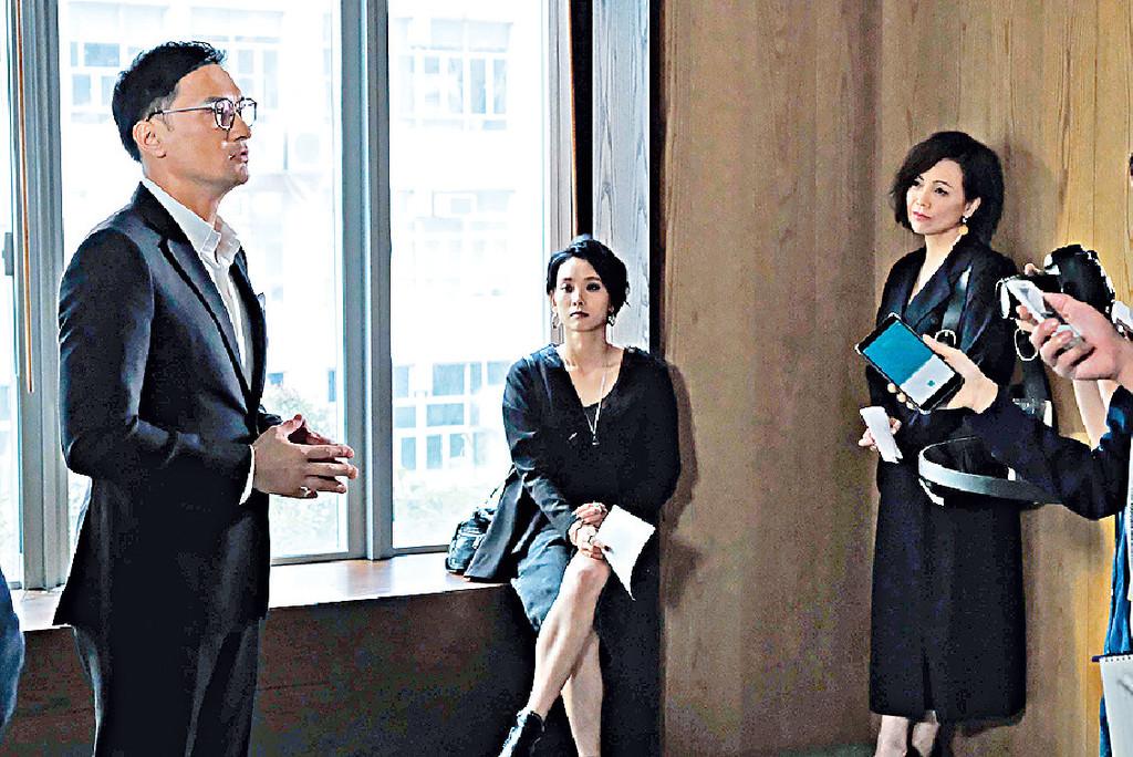 ■雯女演的「馬淑湘」,明知老公陳錦鴻不止談善言一個外遇,依然扮唔知。