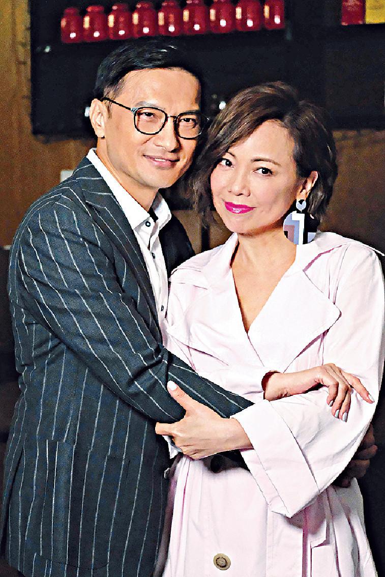 ■雯女話同錦鴻劇中雖然演夫妻,但可惜真正感情戲唔算太多。