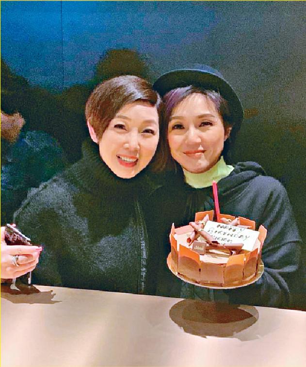 ■黎芷珊相識滿天下,2月替好友楊千嬅慶生。
