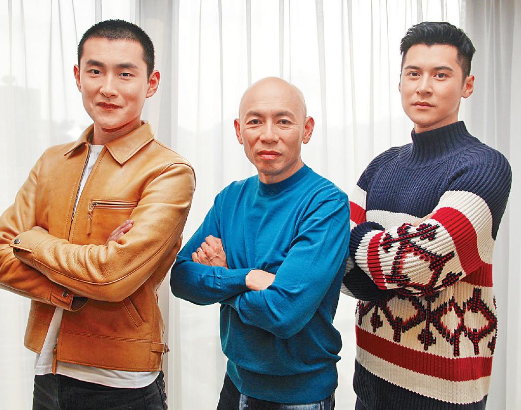 ■林超賢導演帶領陳家樂和王彥霖,即時救援隊上身,Man爆。
