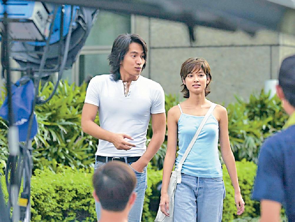 ■Michelle轉戰台灣,02年同言承旭拍《流星花園2》。
