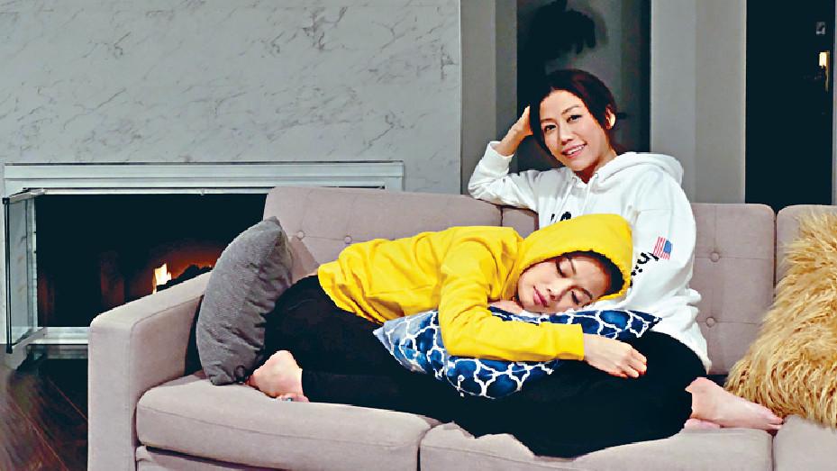 ■祖兒與導演彭秀慧私底下是好閨密。