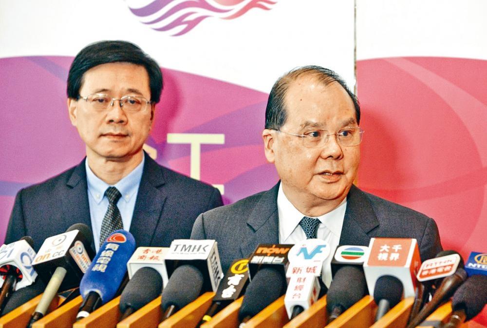 政務司司長張建宗表示,立法會內部程序爭拗,應由立法會自行處理。