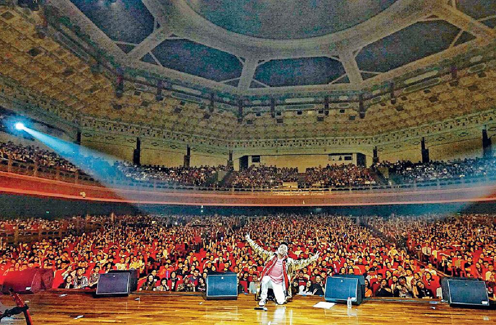 ■師兄廣州演唱會,全場3千座位爆滿。