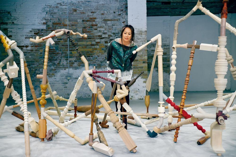 謝淑妮接過上屆楊嘉輝的棒子,代表香港參與第五十八屆《威尼斯視藝雙年展》外圍展。
