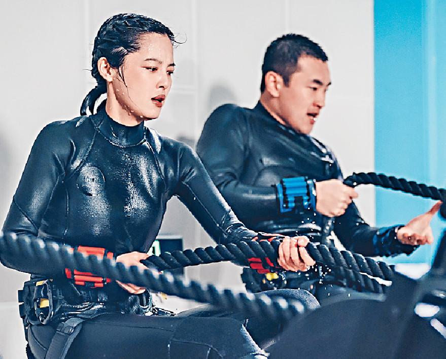 ■辛芷蕾和王彥霖在片中互生情愫。