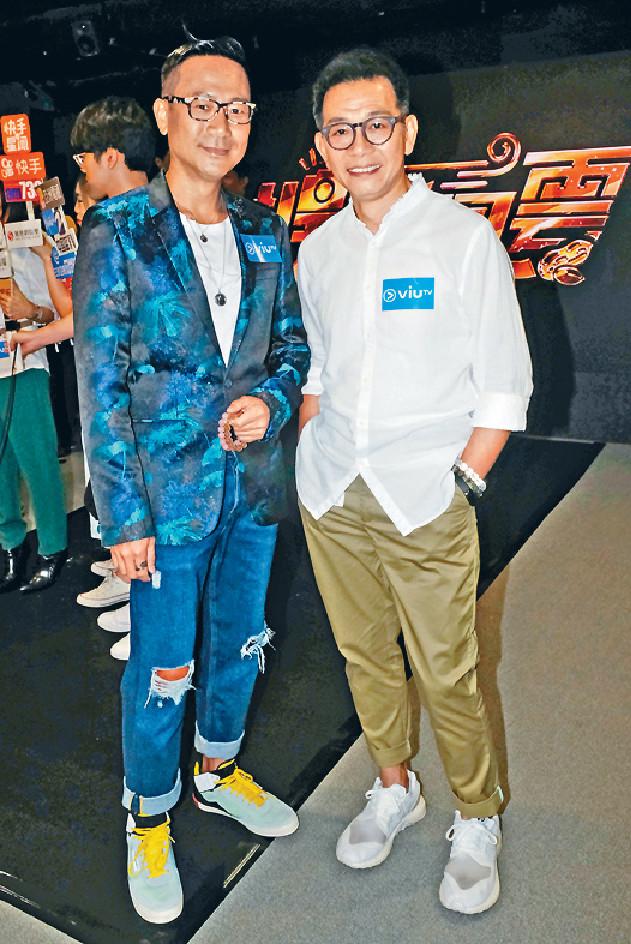 ■陳國邦(右)和袁富華都是實力派演員。