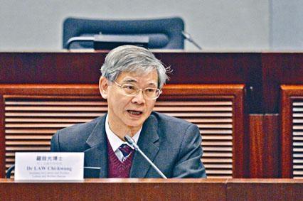 ■勞福局局長羅致光,承認香港勞工短缺及勞工市場情況緊張。