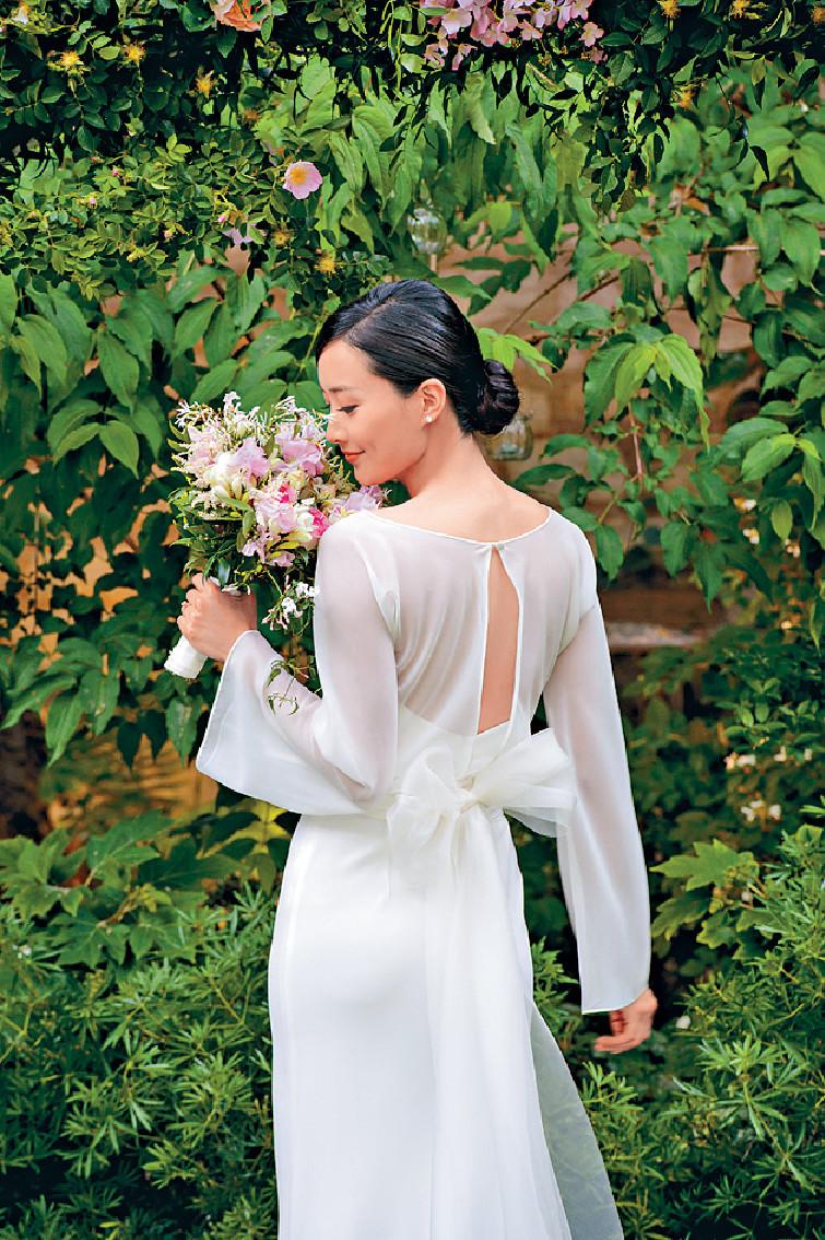 ■法拉感恩來自世界各地的親戚朋友,婚禮上能聚首一堂。