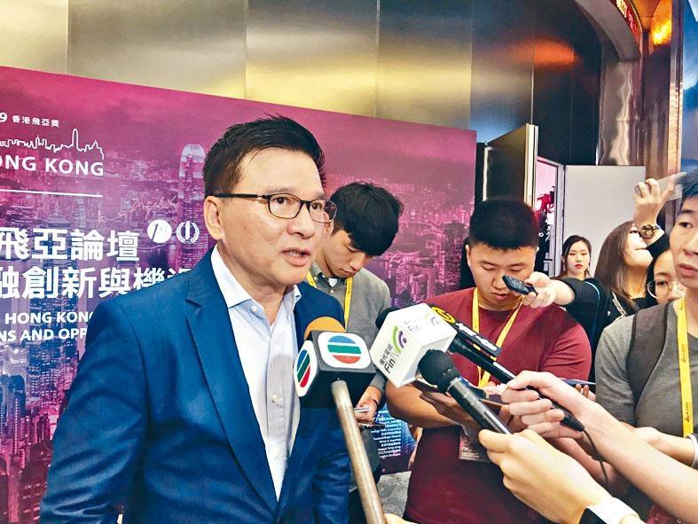 陳家強稱,大灣區發展為WeLab帶來更好客戶群體。