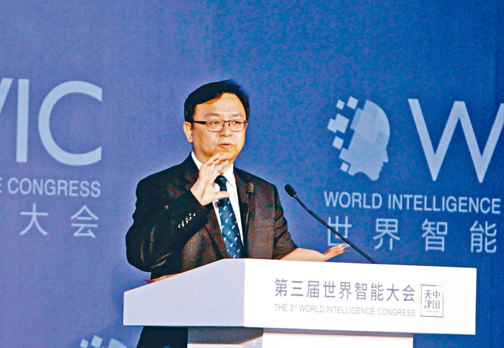 圖為比亞迪股份董事長兼總裁王傳福。