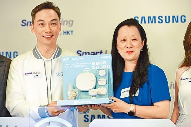 吳永豪表示,本港高速寬頻的滲透率高,對智能家居有需求。