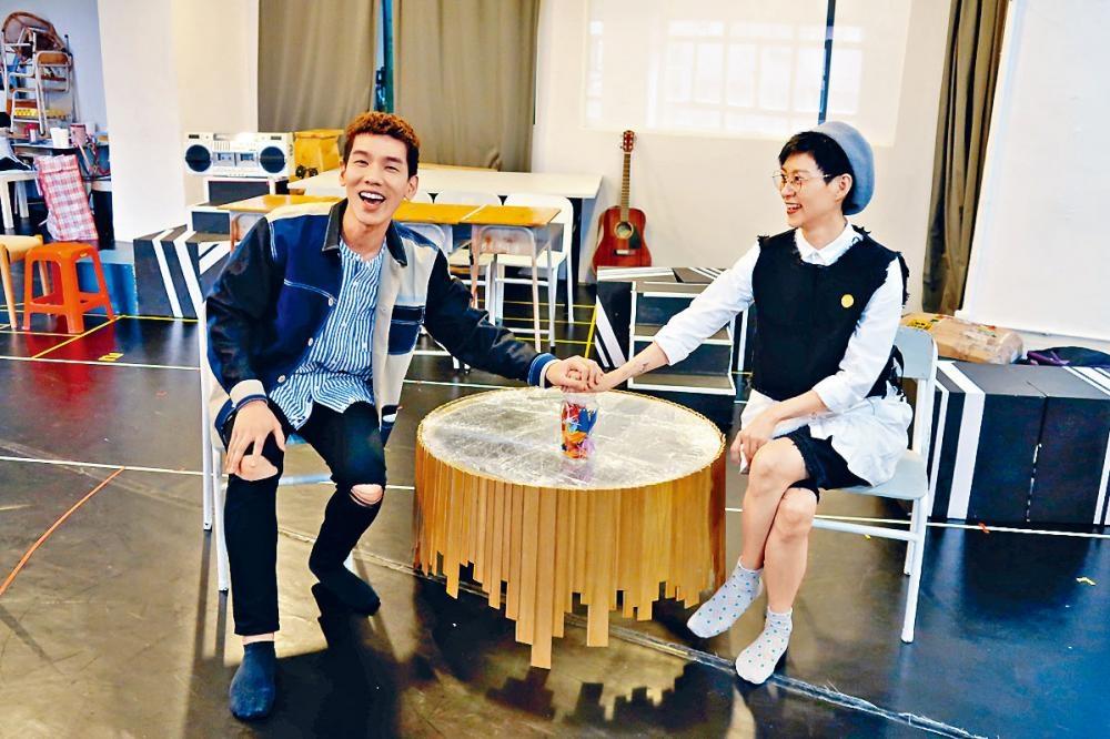 前DJ阿Wing大爆林奕匡充滿喜劇感。