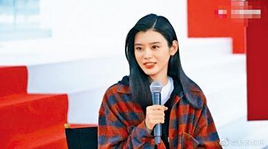 ■奚夢瑤在康城出席品牌活動時,透露事先已經知道求婚一事。