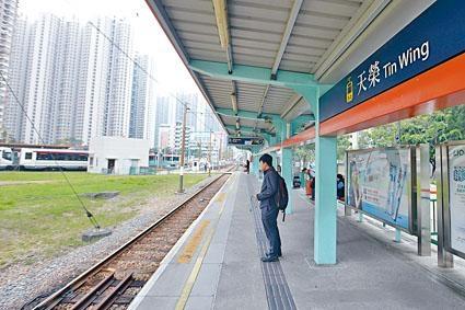 ■天榮站去年六月錄得沉降超標。