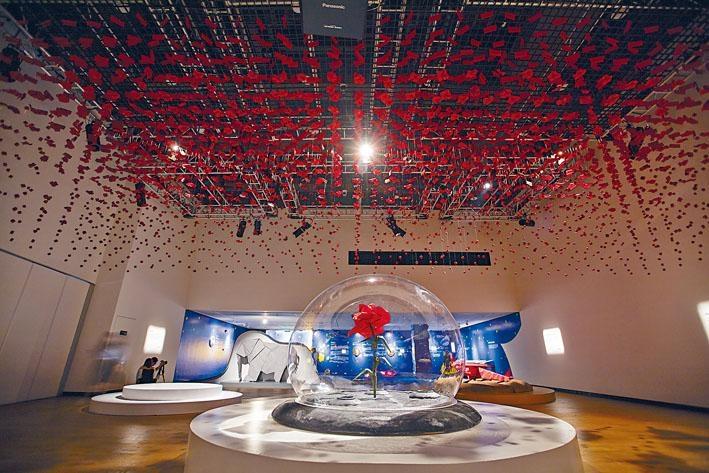 ●《夢想起航──小王子主題展》現場全景。