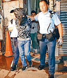 ■男子涉爆竊及利用「吉屋」藏贓被捕帶署。