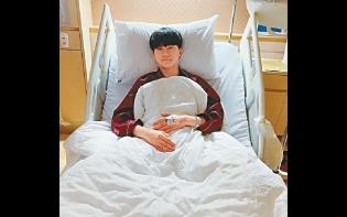 胡鴻鈞吊威吔撞傷頭入院 吳若希:下月齊赴美做騷