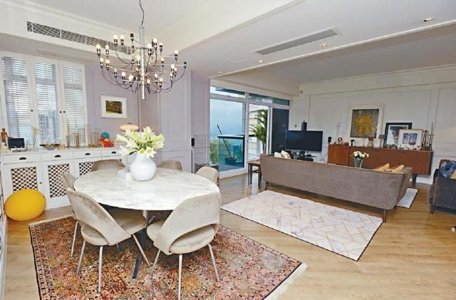 ■這個精選單位為杏彤苑低層B室,實用面積1216方呎,裝潢甚有格調。