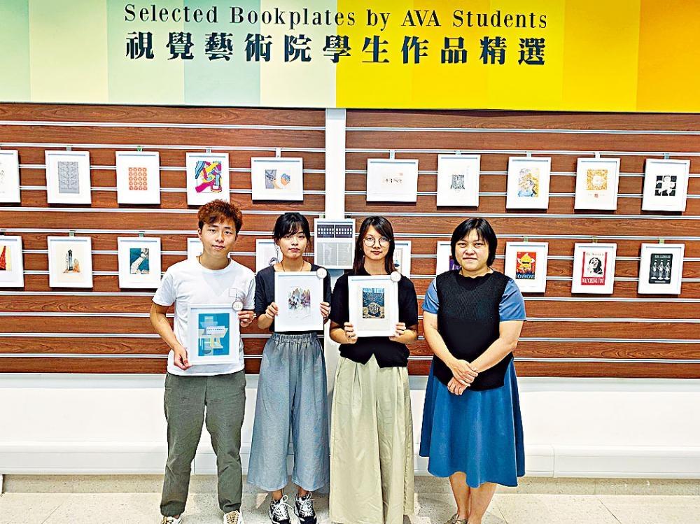 吳秀華指,展覽在推廣社區藝術的同時,亦可令學生通過親身經歷服務社區。