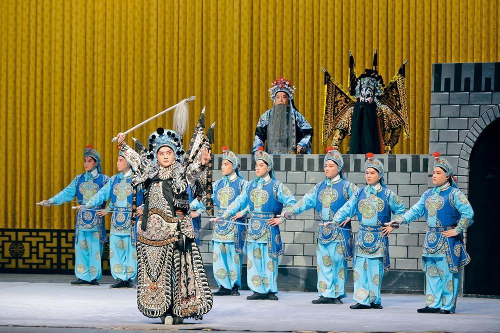 當代京劇愈來愈多年輕演員擔任主角,展示傳承的力量。