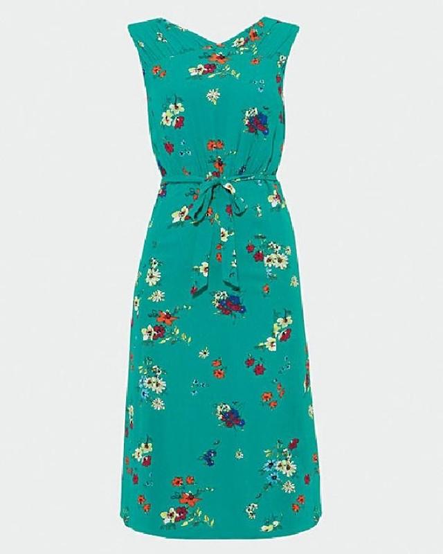 草綠色印花背心裙 原價$1,850 優惠價$925