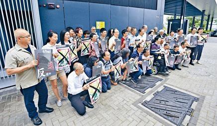 ■民陣將派出過百名糾察維持遊行秩序。