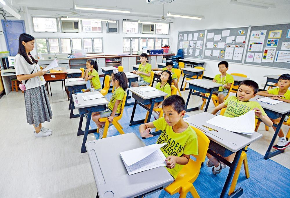 小三全港性系統評估(TSA)去年復考,昨舉行中文科筆試。