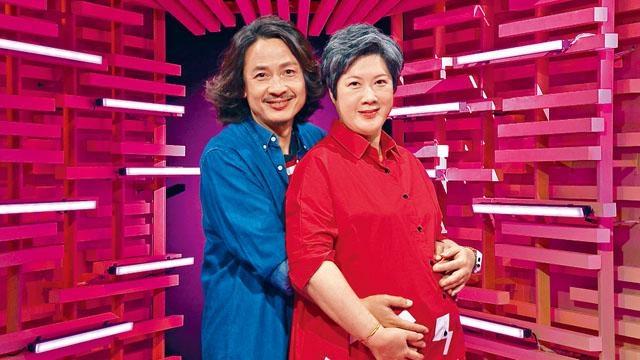 ■黃澤鋒與太太Lilian一直「不設防」,如今終於造人成功,大感驚喜。