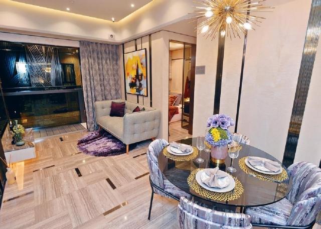 ■御半山II期三房連套房示範單位,以2A座18樓G室為藍本。