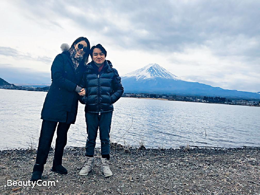 ■祖藍話知道老婆湊女辛苦,情人節帶亞男去日本旅行慶祝結婚4周年。