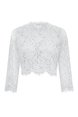 ●來自品牌Whistles的Ariane套裝禮服,由上衣及半截裙組成,設計焦點在於喱士衣料及露背剪裁/$7,785。