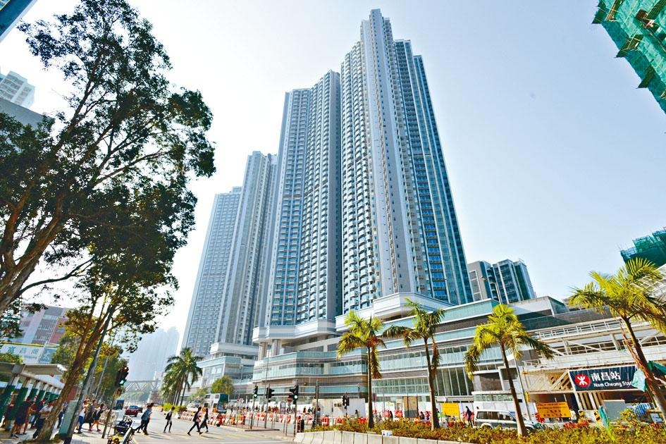 匯璽II3A座高層B室,面積約1320方呎,以5萬租出,呎租約37.9元。