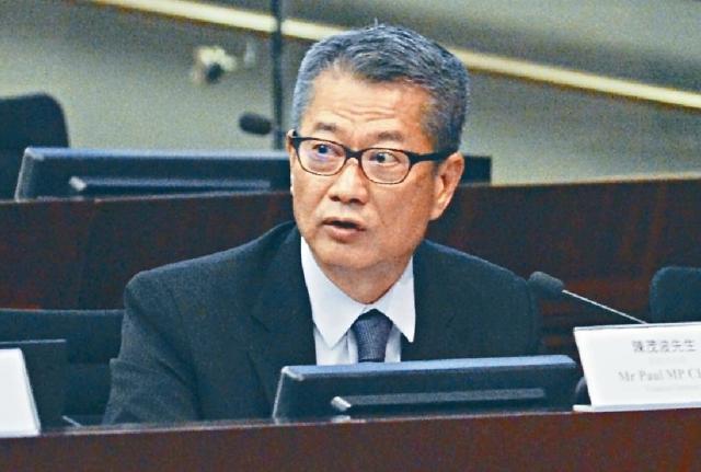 ■陳茂波在網誌強調,司長與各財金部門亦更緊密監察各個金融環節的情況。