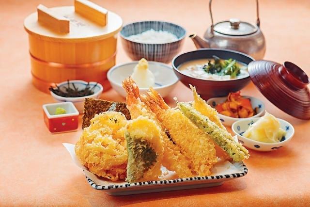 天幕御膳 $148 ■備有三種創意食法,分別是直接沾蘿蔔泥吃、佐飯及以高湯泡飯,一次過試勻三種滋味。