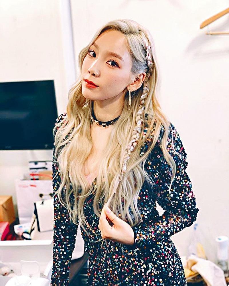 少女時代成員泰妍前晚在社交網自爆患上抑鬱,正接受藥物治療。