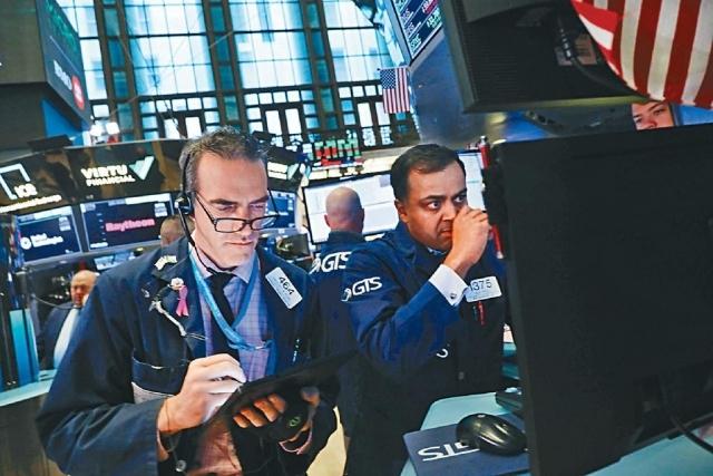 ■投資者觀望議息結果,杜指早段曾升75點。