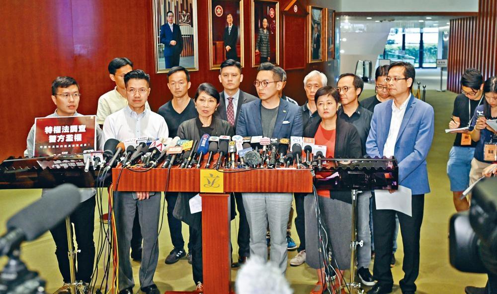 民主派指林鄭月娥的道歉來得太少和太遲,令年輕人覺得她沒有誠意。