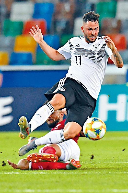 德國U21前鋒馬高列治達
